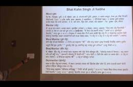 Jap Jee Sahib: Lesson 1