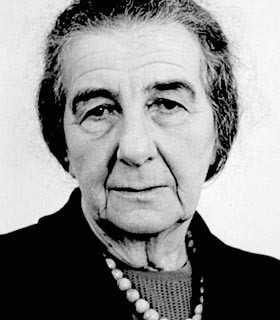Golda Meir's Speech